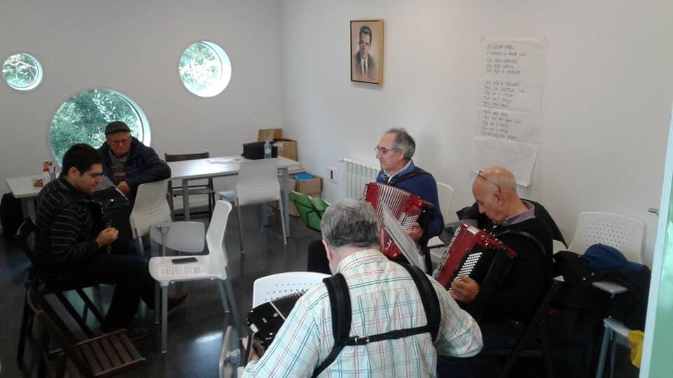 A asociación de acordeonistas Canido-Ferrol retoma a súa actividade