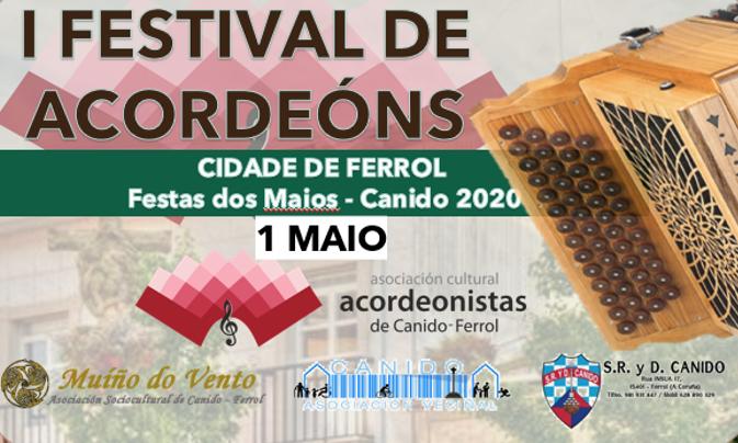 ESTAMOS ORGANIZANDO O PRIMEIRO FESTIVAL DE ACORDEÓNS CIDADE DE FERROL